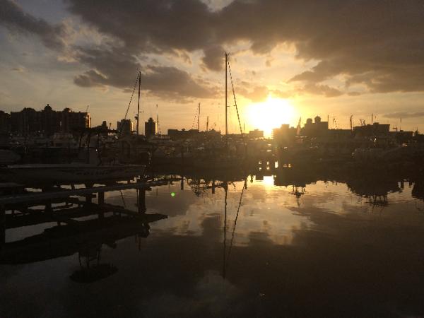 Marina Jack's at Sunset